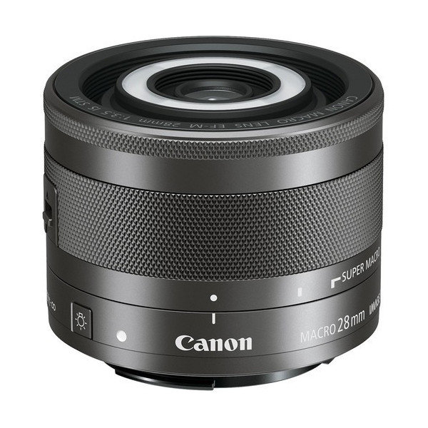 CANON EF-M 28 f3.5 IS STM MACRO