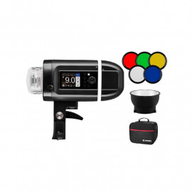 JINBEI HD-400 TTL RT HSS FLASH CON BATERIA